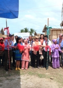 Ceremonial Handover of Permanent Shelters