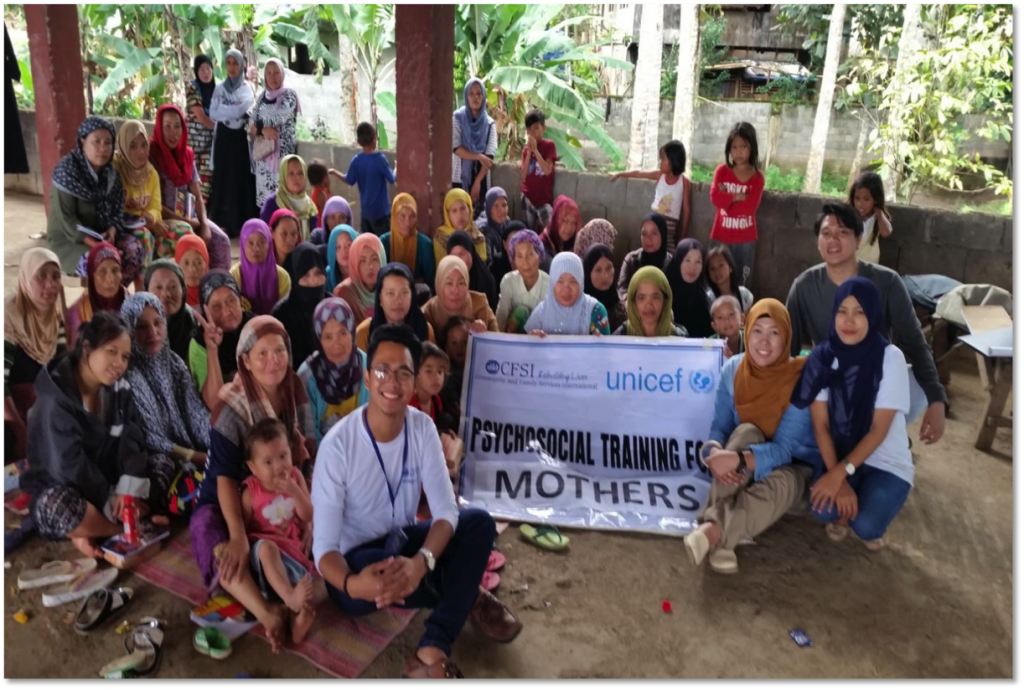 Psychosocial Training for Mothers in Lum baca Ingud Evacuation Center, Bacolod Kalawi, Lanao del Sur