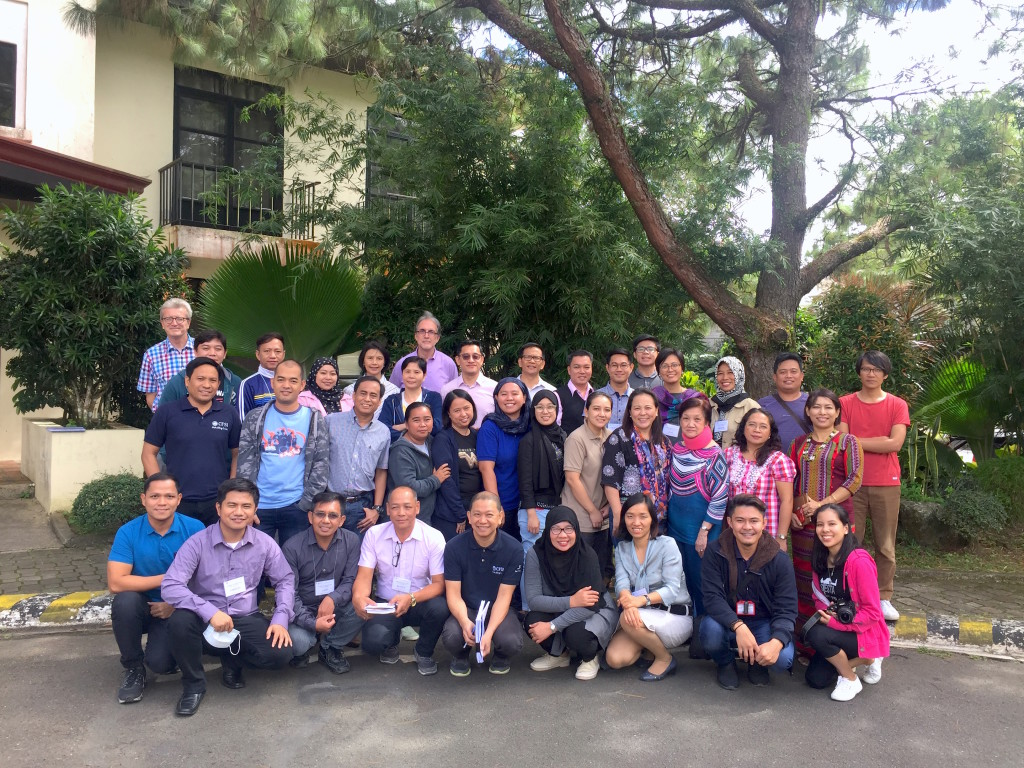 CFSI Board Members, Management Team, and Staff at Tagaytay City during the Consultation and Planning Workshop on 11 January 2018.