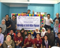 CFSI Field Office of Marawi Reopens