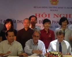 CFSI Commits to Social Work in Viet Nam through 2020