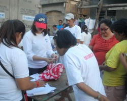 CFSI teams help thousands of typhoon survivors