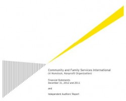 CFSI Audited Financial Statements for 2012/2011