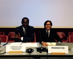 CFSI in Geneva for 2015 UNHCR Annual Consultations with NGO