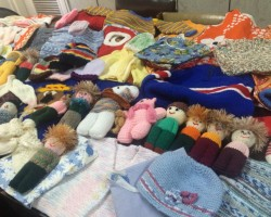Handmade clothes and toys to help children in need in the Philippines