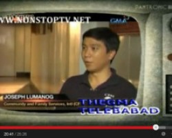 CFSI featured in television news program on Zamboanga