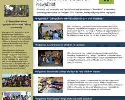 Download print versions of CFSI's newsletters!