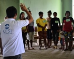 Psychosocial training empowers caregivers in typhoon-hit Eastern Visayas