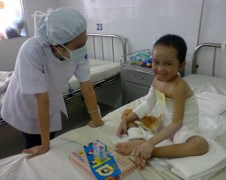 SWEP-Viet Nam helps make children's lives happier