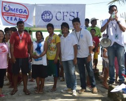 CFSI triathlon unites typhoon-devastated fishing community