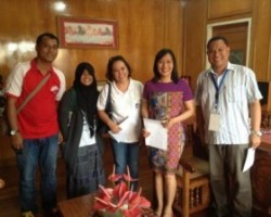 CFSI project team meets with Zamboanga City Mayor