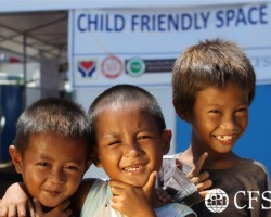 CFSI serves displaced children in Zamboanga