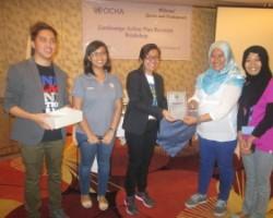 CFSI receives Plaque of Appreciation from Zamboanga City Mayor